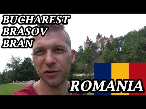 My Expat Diary - Romania (Bucharest, Brasov, Bran Castle) 28/06/2017