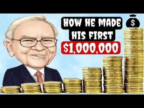 How Warren Buffett Made His First Million Dollars