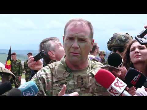 LTG Ben Hodges, Commanding General, U.S. Army Europe: Logistics & Saber Guardian 17