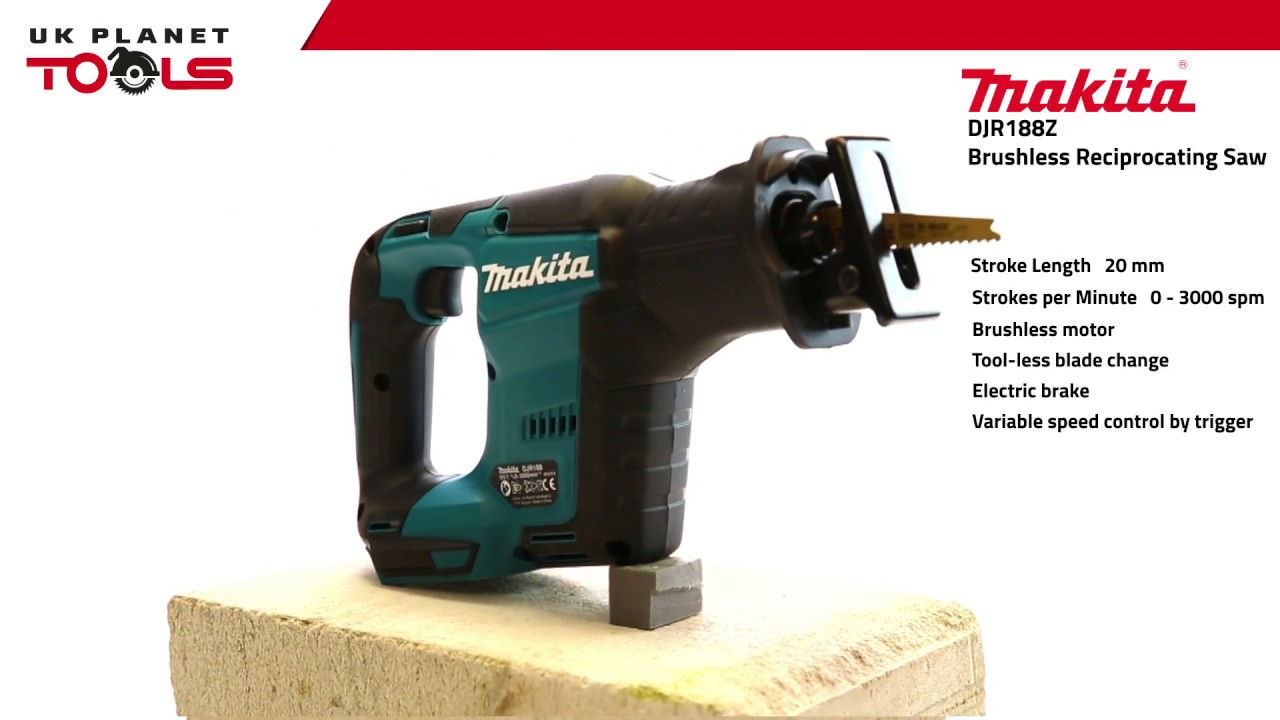 Makita djr188z 18v brushless reciprocating saw lxt body only uk makita djr188z 18v brushless reciprocating saw lxt body only uk planet tools greentooth Gallery