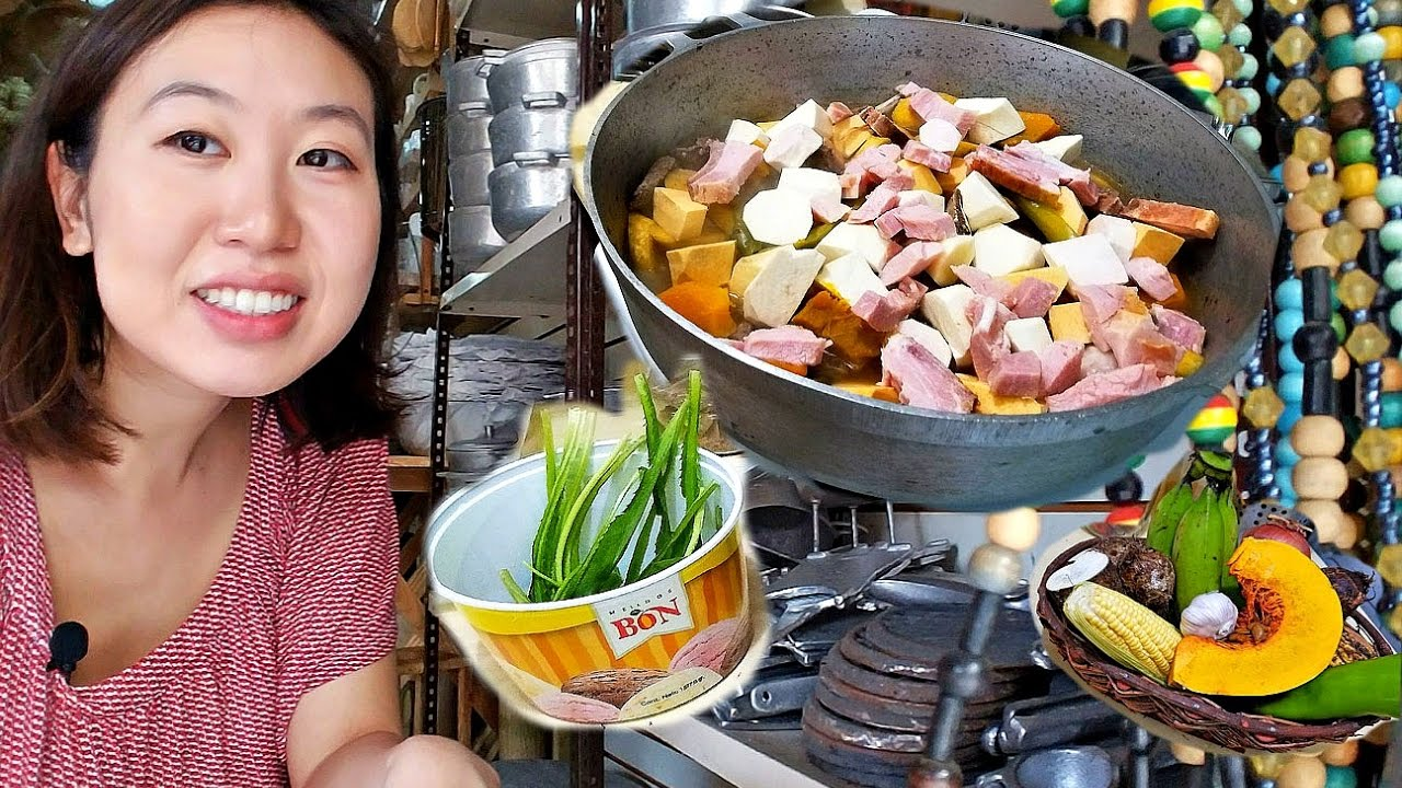 Im Cooking In The Dominican Republic Sancocho Youtube