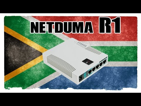 Netduma R1 Gaming Router Works in South Africa
