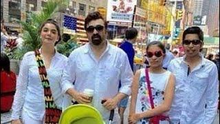 Nida Yasir Young Daughter Silah Yasir with Family on Vacation