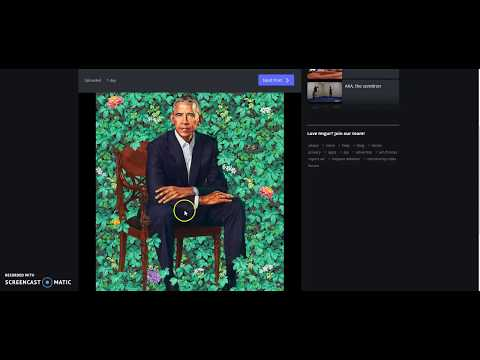 Obama Portrait..The Unveiling of a New Beast
