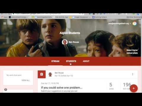 Google Classroom Updates August 2016
