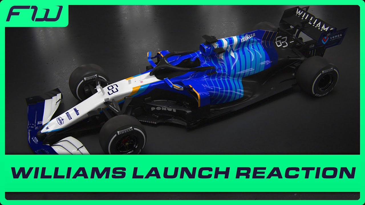 A New Look For Williams: Launch Reaction