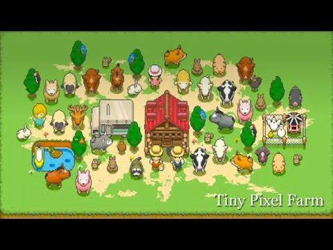 Pixel Farm Game