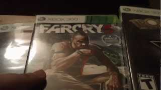Gamestop Run: Hitman HD Trilogy, Farcry 3, Tropico 4 Gold Edition, and Hitman Absolution