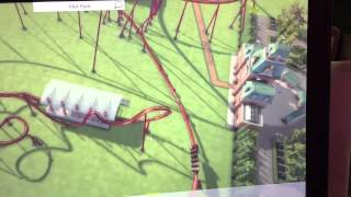 Roller Coaster Tycoon World - Coaster Test Run