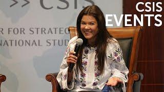 "A Conversation With Ruslana Lyzhychko, ""People's Artist Of Ukraine"""