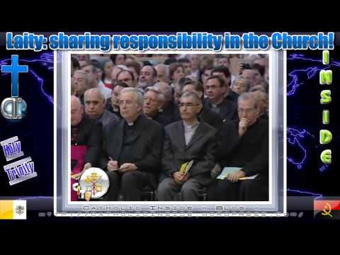 Laity: sharing responsibility in the Church!