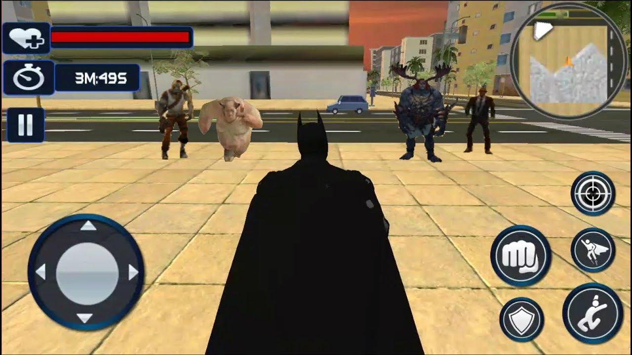► Superheros Batman vs Monster Villain & Secret Agent Best Batman Game