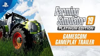 Farming Simulator 19 Platinum Edition | Gameplay Trailer | PS4
