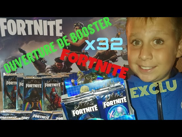 Ouverture de cartes 32 Boosters FORTNITE par GIULYAN - part 1