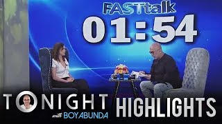 TWBA: Fast Talk with Agot Isidro YouTube Videos