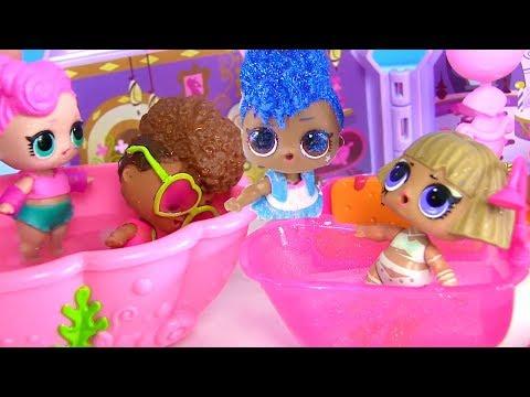 Куклы Лол Сюрприз Мультик! Салон красоты и Сауна для питомцев Lol  Surprise Doll