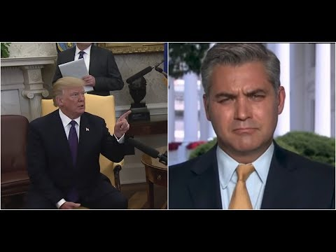 MUST WATCH: President Donald Trump Tells CNN's Jim Acosta to Get 'Out'; Gets Triggered