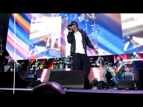 Jay-Z I Just Wanna Love U (Give It 2 Me) HD (Live Chicago 7/7/09) from front row
