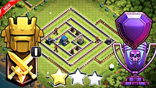 NEW BEST TH12 LEGEND PUSH BASE 2018 with 3 INFERNOS | TH12 BEST BASE FOR LEGEND LEAGUE