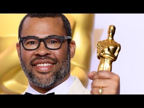 "Jordan Peele - Best Original Screenplay - ""Get Out"" - Oscars 2018 - Full Backstage Speech"
