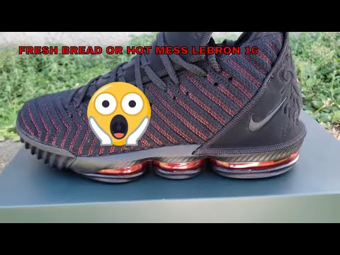 f34c5d8ce89de Nike Lebron 16  Fresh Bred   Unboxing On Feet