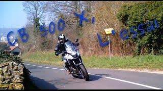 moto vlog 4 essai de la cb 500 x