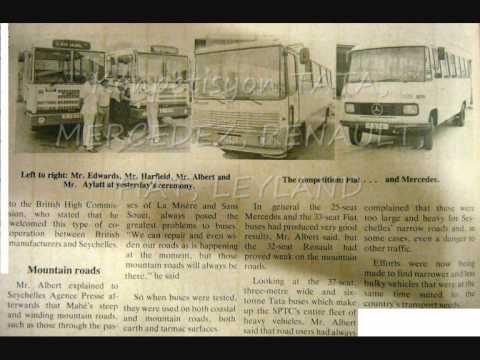 L'histoire du Transport Public Seychelles