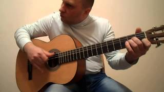 Музыка на гитаре боем