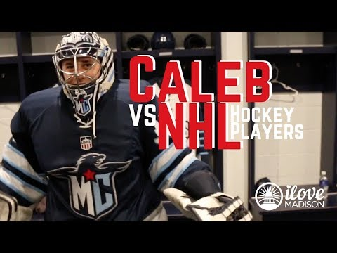 Caleb vs NHL Hockey Players and The Crowning of Madison's Best Burgers (I Love Madison Vlog Ep 5)