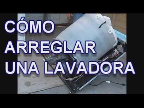 Como arreglar una lavadora motor lorena lara youtube for Como reparar una lavadora