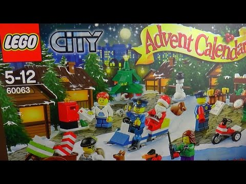 LEGO City Advent Calendar Christmas Surprise 60063 2014