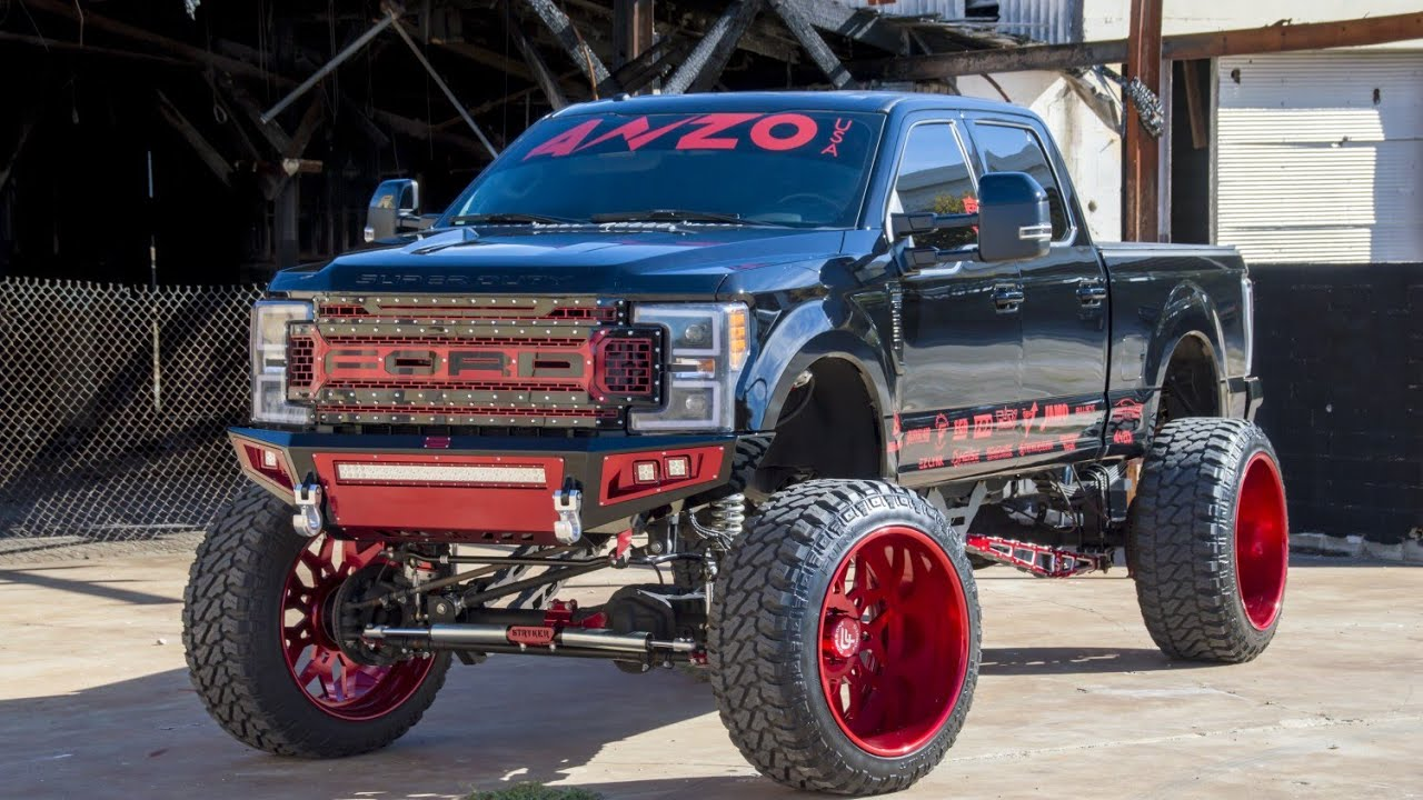 "FIRST TRUCK on 28x16s and 42"" Tires To BURNOUT In The ..."