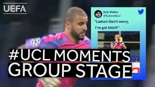 #UCL Group Stage BEST MOMENTS