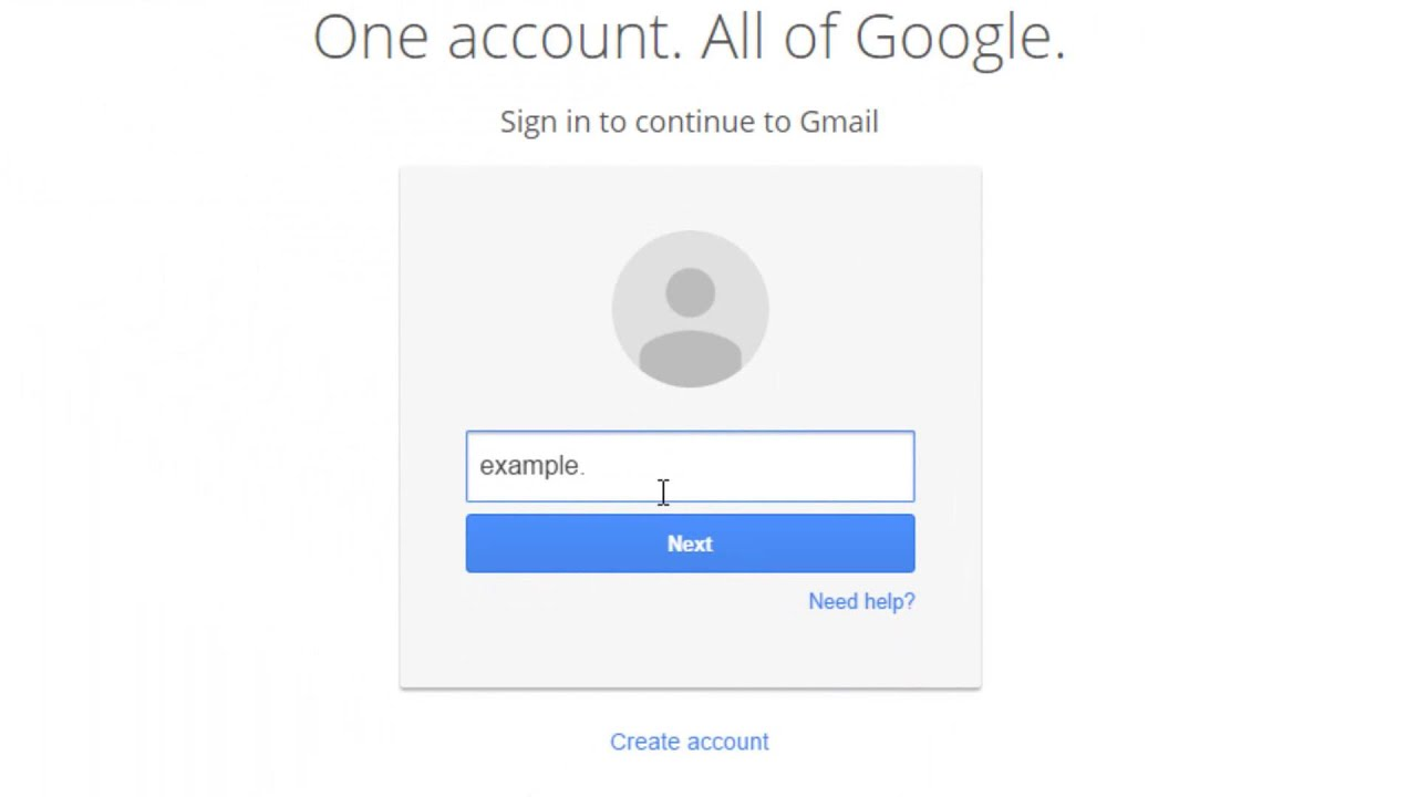 Wwww gmail com sign in