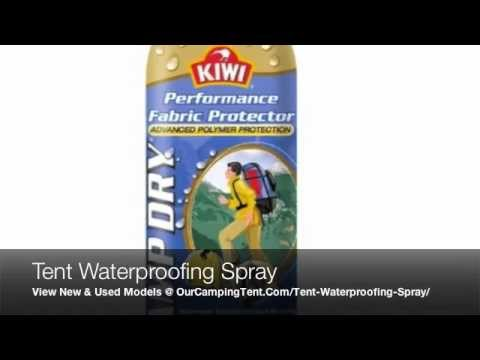 Best Tent Waterproofing Spray Products to Waterproof Nylon u0026 Canvas Fabric C&ing Tents - YouTube  sc 1 st  YouTube : waterproof canvas tent - memphite.com