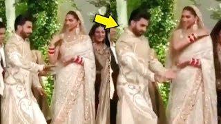Ranveer Singh Dance With Deepika Padukone At His Wedding Reception In Mumbai