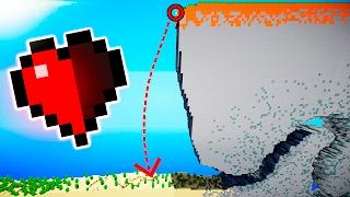 99% IMPOSIBLE HACER ESTO CON MEDIO CORAZÓN (Mapas de Minecraft)