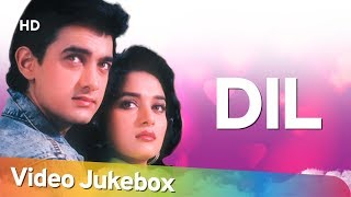 Dil (1990) Songs | Aamir Khan, Madhuri Dixit | Popular 90's Songs | Anand Milind Hits [HD]