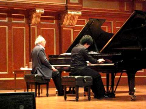 Brendel Masterclass at New England Conservatory
