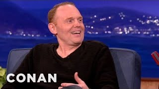 "Bill on Oprah's interview: ""Didn't she used to interview midgets who want to bang their mailman's boyfriend?""----- More CONAN @ http://teamcoco.com/video ..."