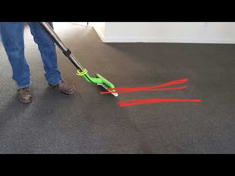 Efficient and effective carpet cleaning