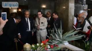 بالفيديو : توافد المواطنين على ضريح جمال عبد الناصر  احتفالا بـ23يوليو