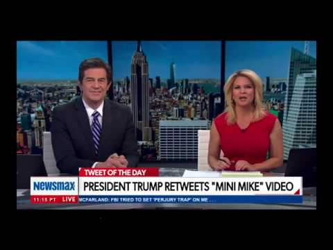 "Newsmax's: ""National Report,"" Feb 21, 2020: Bloomberg vs. Trump"