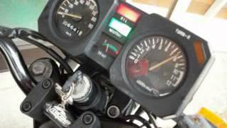 RZ50 エンジン始動確認