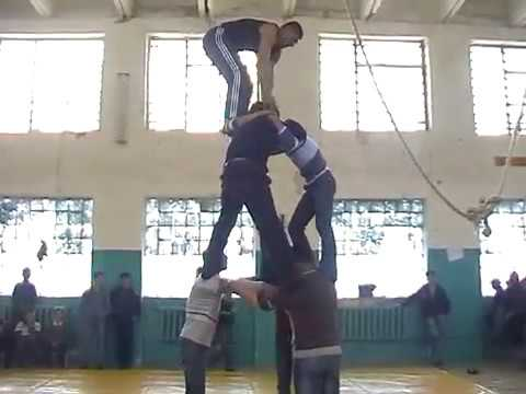 Athletic actions. Sport tricks. Just perfect! Best of Azerbaijan.