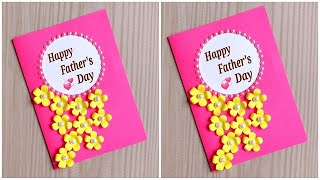 Easy and Beautiful card for Father's day / Father's day card making ideas / DIY father's day card