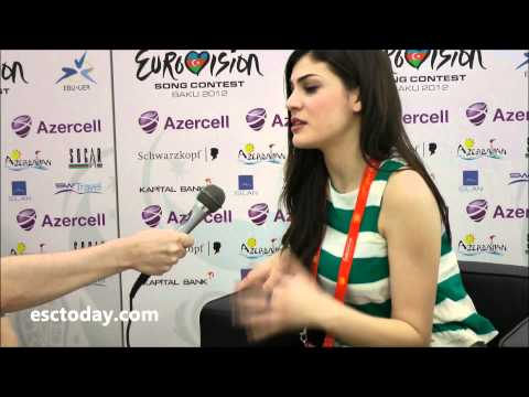Eurovision Song Contest 2012 - Interview with Ivi Adamou, Cyprus