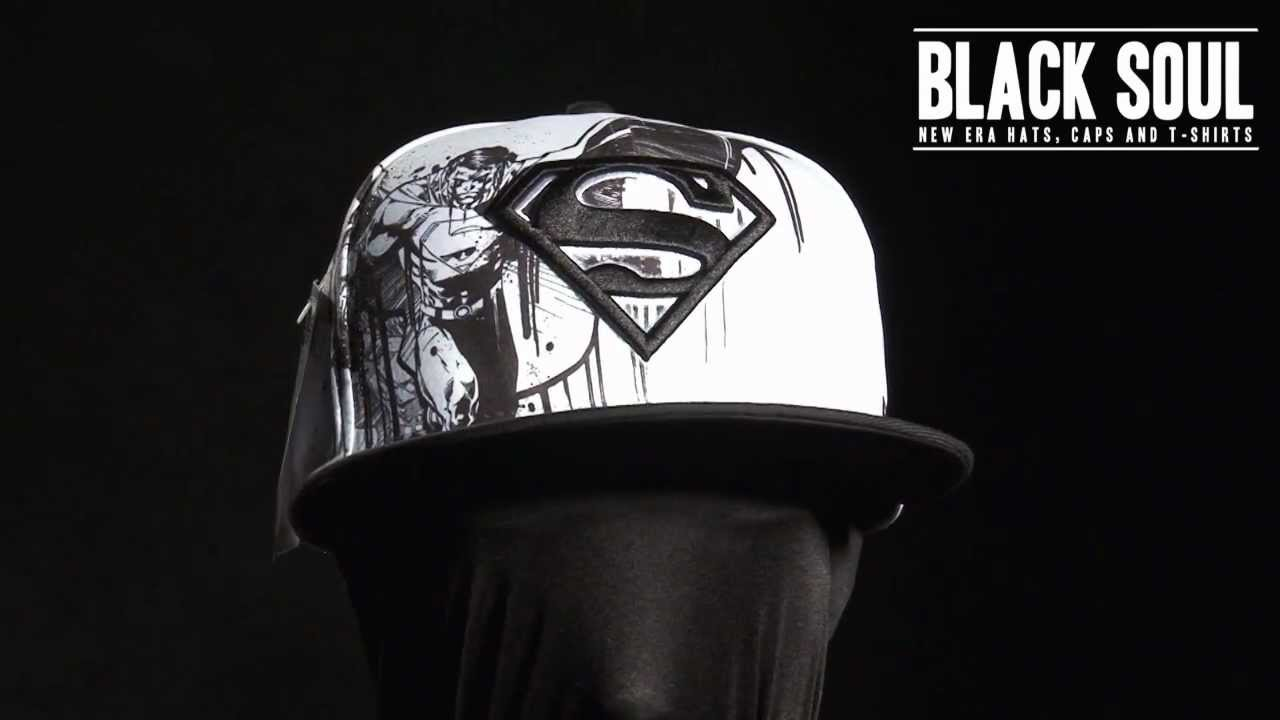 Boné New Era 5950 59Fifty aba reta DC Comics Superman - YouTube 16a8b7d3a3e
