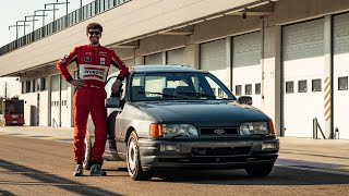 Ford Sierra Cosworth project: 485 HP on a 2WD! - Davide Cironi (SUBS)