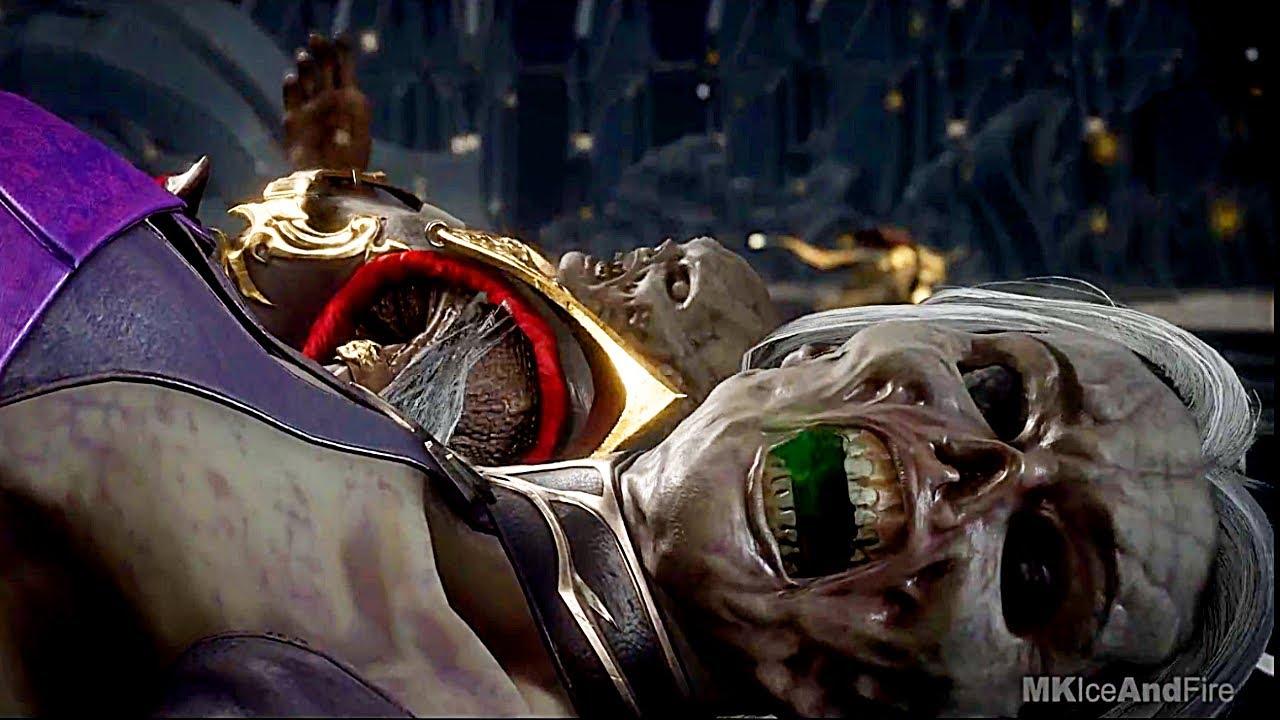 MORTAL KOMBAT 11 AFTERMATH Shang Tsung Kills Shao Kahn & Sindel Scene MK11